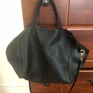 Black Banana Republic Leather Bag